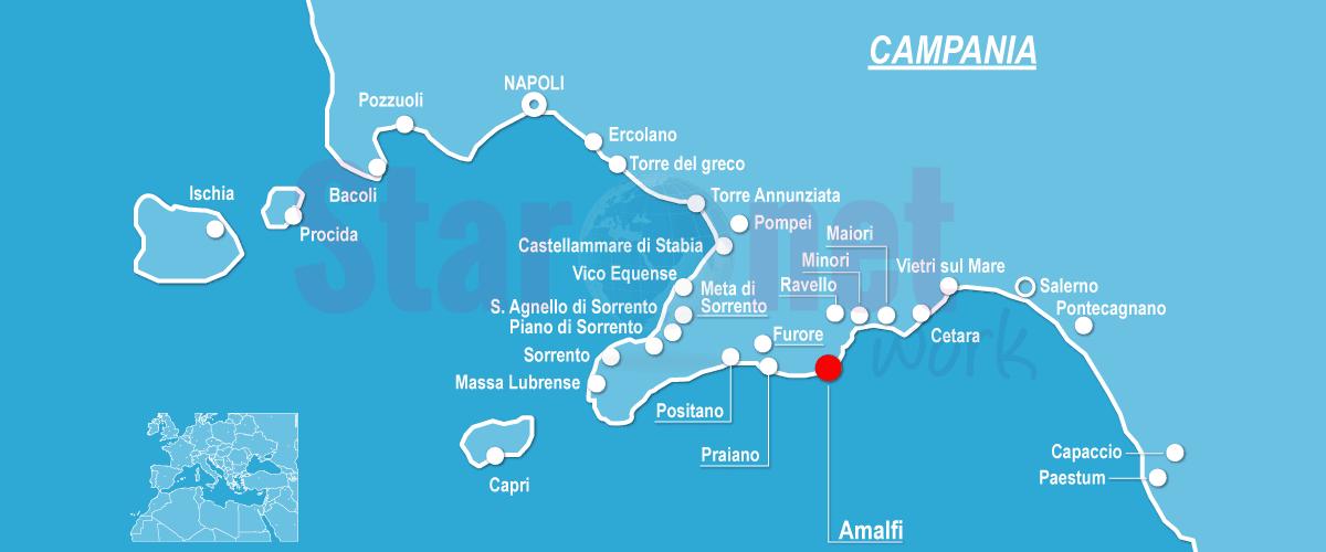 Costiera Amalfitana | Guida Turistica e informazioni